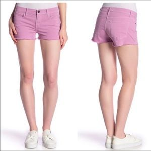 Frame Le Cutoff Purple Denim Jean Shorts NWT
